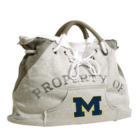 Michigan Wolverines NCAA Property Of Hoodie Tote