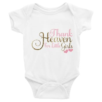 Thank Heaven For Little Girls Onesuit