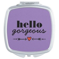 Hello Gorgeous - Lavender Flattering to Every Face Mirrors For Makeup