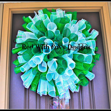Marshall University, MU, West Virginia, Wreath, College Wreath, College, St. Patrick's Day Wreath