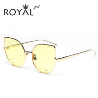 Fashion Cat Eye Sunglasses Women Brand Designer Retro Female Sun Glasses oculos de sol feminino UV400 ss551