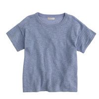 crewcuts Girls Sparkly Short-Sleeve Sweater
