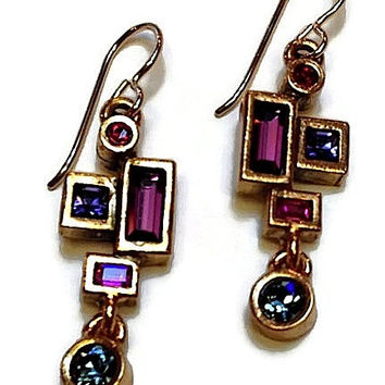 Patricia Locke Jewelry - Prairie Earrings in Passion