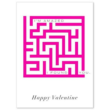 Valentines Amazed Card