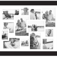 MCS Aventura 20 by 16-Inch Collage Frame with 13 Openings