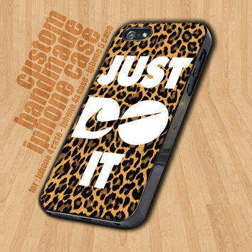 Nike Just Do It Leopard   - iPhone 4 / 4s Case - iPhone 5 Case - Black Case - White Case