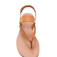 Braided Faux Leather Sandals | Forever 21 - 2000187210