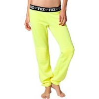 Fox Racing Fast Lane Girls Outdoor Pants - Day Glo Yellow / Small