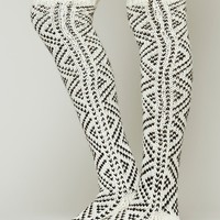 Peruvian Thigh High Sock