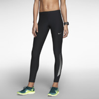 Nike Reflective Women's Running Tights - Black