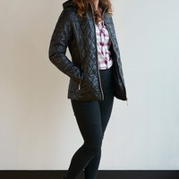 Plus Size Classic Hooded Puffer Coat - 5 Colors!