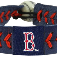 Boston Red Sox Blue Team Color Baseball Bracelet