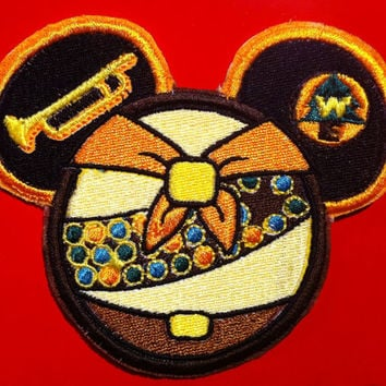 Disney Pixar Up Russell Inspired Mouse Ear Wilderness Exporer Patch