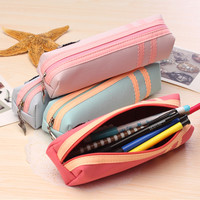 Creative Cartoons Pen Bags Strong Character Polyester Storage Stationary [6284113990]