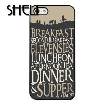 SHELI Lord Of The Rings case cover for iphone 5s 5c SE 6 6s 6plus 7 7plus Samsung galaxy note7 s3 s4 s5 s6 s7 edge