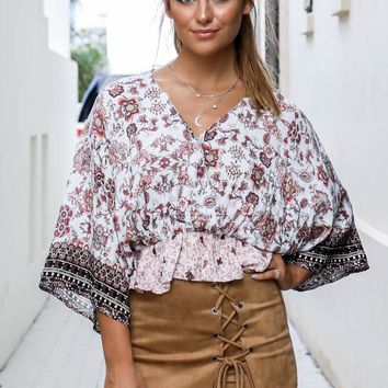 Going Crazy Taupe Lace Up Skort