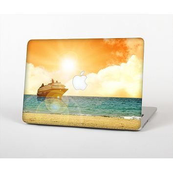 The Vintage Cruise ship at Dusk Skin for the Apple MacBook Air 13""
