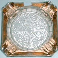 MacBeth Evans Ashtray Pink