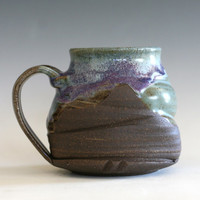 Pottery Coffee Mug, handmade pottery mug, handthrown mug, stoneware mug, pottery mug, unique coffee mug, ceramics and pottery