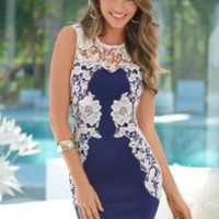 Lace detail dress in the VENUS Line of Dresses for Women