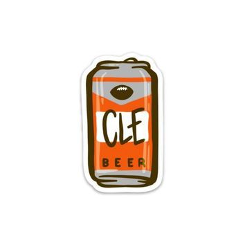 Sticker - CLE Tailgating Beverage Can