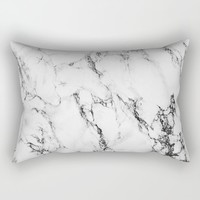 Marble Lumbar Pillow