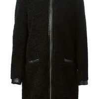 Levi's: Made & Crafted 'Elza' leather trim coat