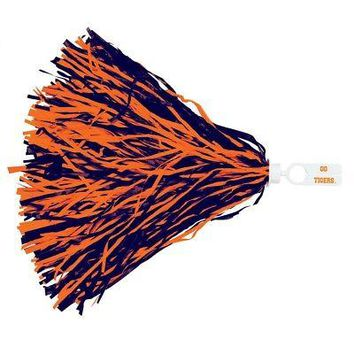 Licensed Clemson Tigers Official NCAA 500 Strand Cheer Pom Pom Clemson by Wincraft KO_19_1
