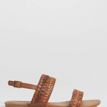 Alyssa woven strap sandal | maurices