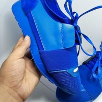BaLenciaga Fashion Race Runners Sneaker-6