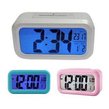 New Big Display Digital LED Clock Desk Table LED Alarm Clock For Home Decor