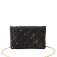 Studded & Quilted Cross-Body Purse by Charlotte Russe