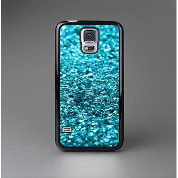 The Turquoise Glimmer Skin-Sert Case for the Samsung Galaxy S5