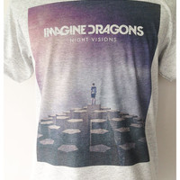 Imagine Dragons Band Rock Album Tees T Shirt Unisex Man Women Size S,M,L
