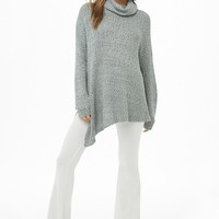 Turtleneck Longline Sweater
