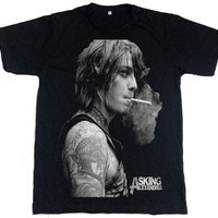 Asking Alexandria Ben Bruce Metal Rock Music Band T-shirt Size.S,M,L,XL