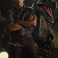 "Jurassic World (2015) Movie Poster 12 x 18"" Inches , Glossy Finish (Thick): Chris Pratt, Bryce Howard Dallas"