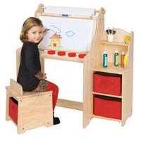 Guidecraft Artist Activity Desk - G51032