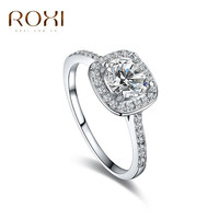 ROXI fashion Jewelry Exquisite wedding Rings platinum and Rhodium plated with AAA zircon, ,Micro-Inserted Jewelry