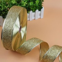 2M Sparkle Ribbon Christmas Trees & Wedding & DIY & Scrapbooking Party Decor 5CM Width Wire Edged