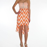 Miss Chievous Chevron Tube Top Dress - Women's Dresses/Skirts | Buckle