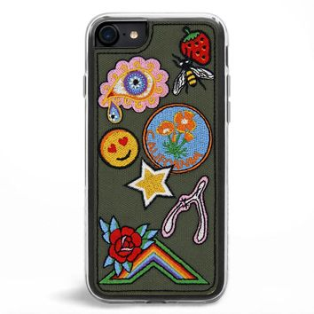 Badge Embroidered iPhone 7/8 Case
