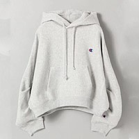 Champion Women Fashion Embroidery Hoodie Top Sweater Pullover