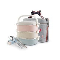 Container For Food Storage Thermal Lunch Boxs Stainless Steel