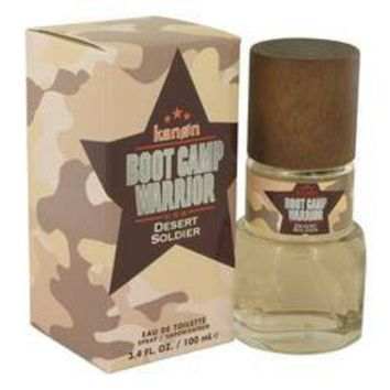 CREYON Kanon Boot Camp Warrior Desert Soldier Eau De Toilette Spray By Kanon