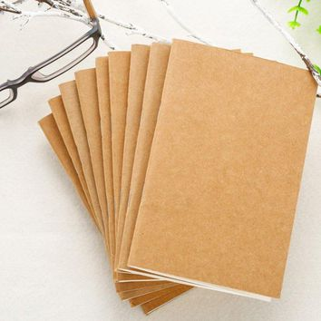 Passion Junetree Refillable Paper Traveler's Notebook Filler Papers / Journal Dairy Inserts Refill Paper ( 9 of pack )