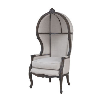 Guild Master King Chair in Heritage Grey Stain 7011-260