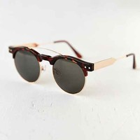 Spitfire Surf Rock Half-Frame Sunglasses- Brown One
