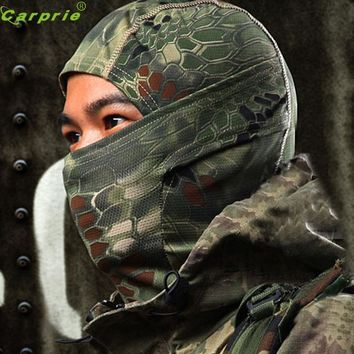 AUTO cool 1PC Camouflage Army Cycling Motorcycle Cap Balaclava Hats Full Face Mask Bicycle Cap Men Riding Bandana OC 31