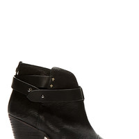 Rag And Bone Black Leather Harrow Ankle Boots